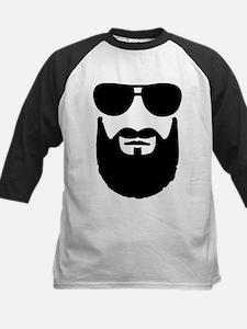 Full beard sunglasses Kids Baseball Jersey