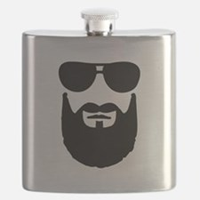 Full beard sunglasses Flask