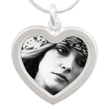 tate2 Silver Heart Necklace