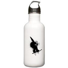 Snowboarder Water Bottle