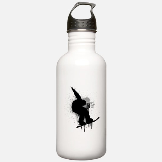 Snowboarder Water Bottle