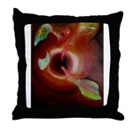 Birds at the Spring Throw Pillow