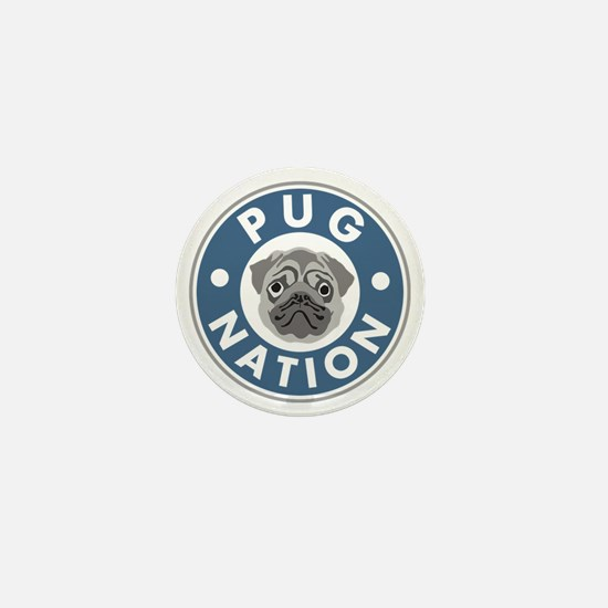pug-nation Mini Button