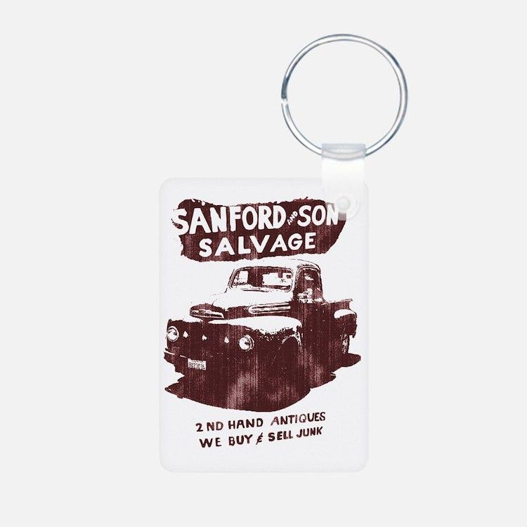 sanford and son Aluminum Photo Keychain