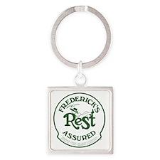 Rest Assured Gr 15.35 x 15.35 Square Keychain