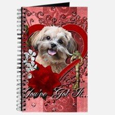 Valentine_Red_Rose_ShihPoo_Maggie Journal
