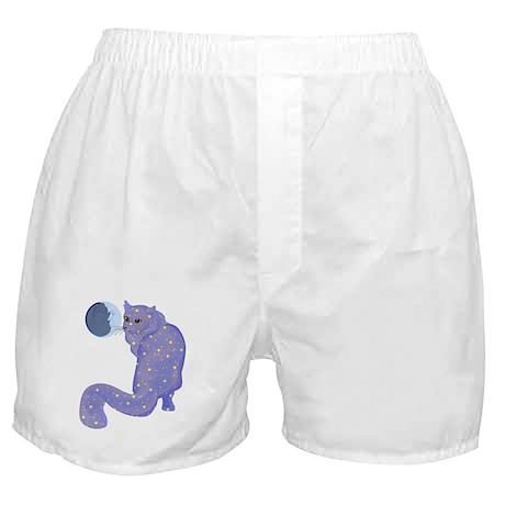Night Cat Boxer Shorts