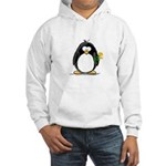 Yellow Rose Penguin Hooded Sweatshirt