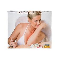 RGcal-2011_01-martine-vanhalen Throw Blanket