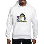 Scrapbook Penguin Hooded Sweatshirt