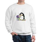 Scrapbook Penguin Sweatshirt