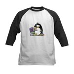Scrapbook Penguin Kids Baseball Jersey