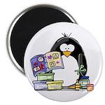 Scrapbook Penguin Magnet