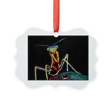 Solarized Praying Mantis Ornament
