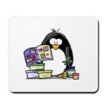 Scrapbook Penguin Mousepad