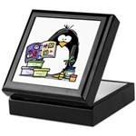 Scrapbook Penguin Keepsake Box