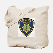 Woodland Police Tote Bag