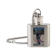 penny card 10 v2 Flask Necklace