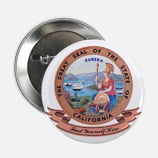 """California Seal 2.25"""" Button"""