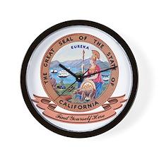 California Seal Wall Clock