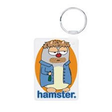 Drunk hamster Keychains