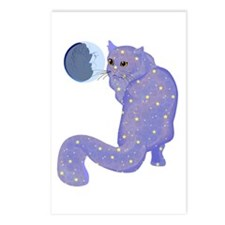 Night Cat Postcards (Package of 8)