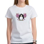 Pink Fairy Penguin Women's T-Shirt