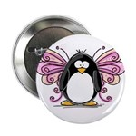 Pink Fairy Penguin Button