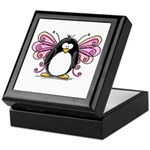 Pink Fairy Penguin Keepsake Box