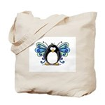 Blue Fairy Penguin Tote Bag