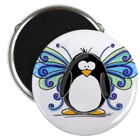 Blue Fairy Penguin Magnet