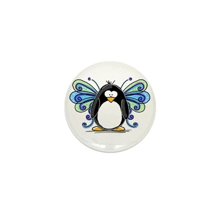 Blue Fairy Penguin Mini Button (100 pack)