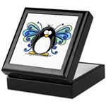 Blue Fairy Penguin Keepsake Box