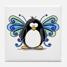 Blue Fairy Penguin Tile Coaster