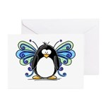 Blue Fairy Penguin Greeting Cards (Pk of 10)