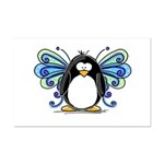 Blue Fairy Penguin Mini Poster Print