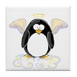 Angel Penguin Tile Coaster