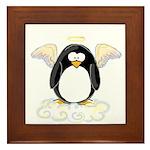 Angel Penguin Framed Tile