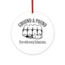 GroundPound_01 Round Ornament