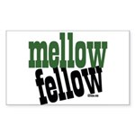 Mellow Fellow Rectangle Sticker