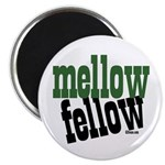 "Mellow Fellow 2.25"" Magnet (10 pack)"