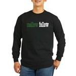 Mellow Fellow Long Sleeve Dark T-Shirt