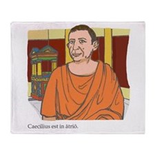 Caecilius_3 Throw Blanket