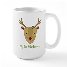 1st Christmas Reindeer Mug