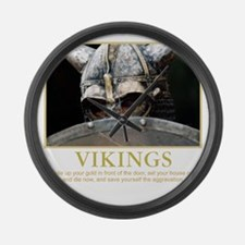 viking Large Wall Clock