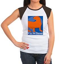 Ferret-iPad Women's Cap Sleeve T-Shirt
