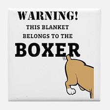 boxerblanket Tile Coaster