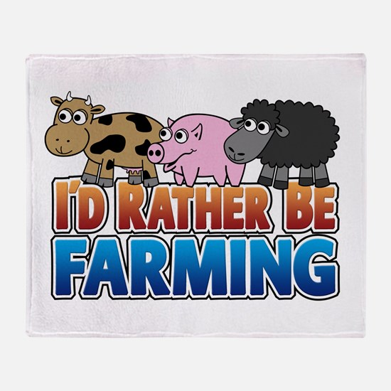 farming-rather_3_animals.png Throw Blanket