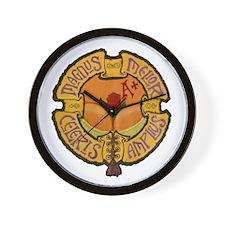 IWG Logo painted Wall Clock