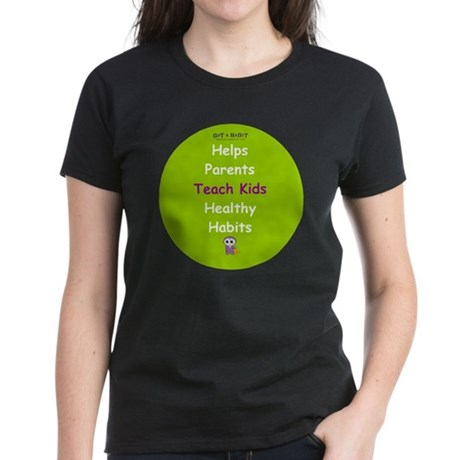 Sticker Star Women's Dark T-Shirt